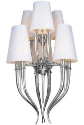 Lampa sufitowa z kloszami z tkaniny devil 6