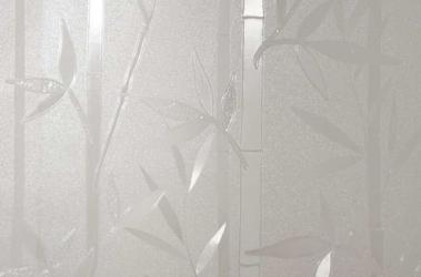 Statyczna folia okienna 90x150cm bambus