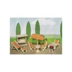 Mebelki ogrodowe dla lalek