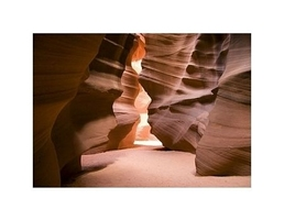 Antelope canyon - reprodukcja