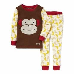 Piżama zoo małpa 6