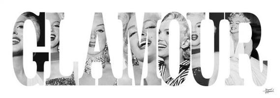 Marilyn monroe glamour - reprodukcja