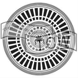 Szablon do rękodzieła 15,2x15,2 cm - 321S