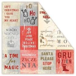 Papier świąteczny loft christmas - wishes - 05