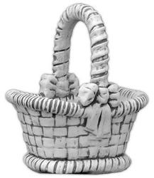 Donica - wazon - w kształcie koszyka - 63x38x32cm