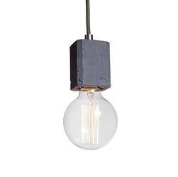 Loftlight :: lampa wisząca kalla quadro antracytowy wys. 8 cm