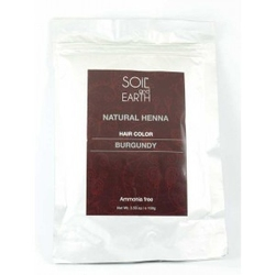 Naturalna henna do włosów indyjska burgund 100g soil earth