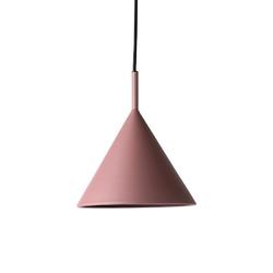Hk living :: lampa wisząca metalowa triangle rozmiar m fioletowa