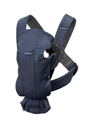 Babybjorn mini 3d mesh – nosidełko, ciemny niebieski - ciemny niebieski 3d mesh