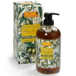 Naturalne mydło w płynie z oliwą 500ml - idea toscana