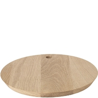 Okrągła deska do krojenia i serwowania borda blomus dębowa b63796