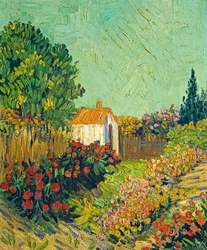 Landscape, vincent van gogh - plakat wymiar do wyboru: 59,4x84,1 cm