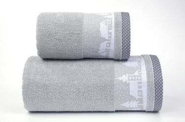 Ręcznik greno sweet dream popielaty - popielaty