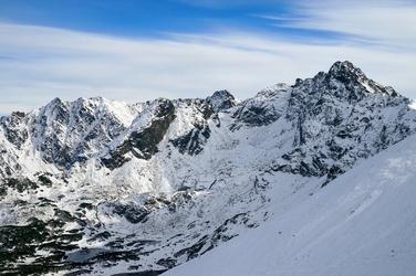 Fototapeta wyjątkow zdjęcie szczytów górskich fp 1960
