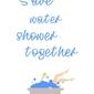 Prysznic - plakat wymiar do wyboru: 70x100 cm
