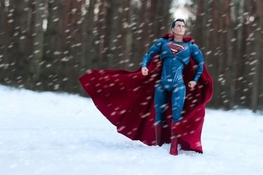 Men of steel superman - plakat wymiar do wyboru: 29,7x21 cm