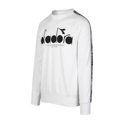 Bluza męska diadora sweatshirt crew 5palle offside - biały