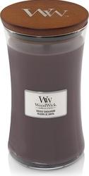 Świeca core woodwick suede  sandalwood duża