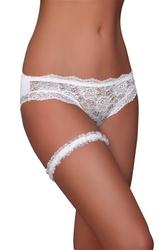 Podwiązka garter white lc 8368 livia corsetti
