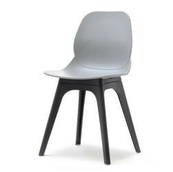 Krzesło na taras meti szaryczarny nowoczesne
