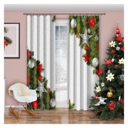 Zasłona christmas 150 x 250 cm