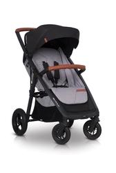 Easygo quantum air grey fox wózek do 22 kg na pompowanych kołach + torba dla mamy gratis