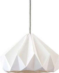 Lampa chestnut biała