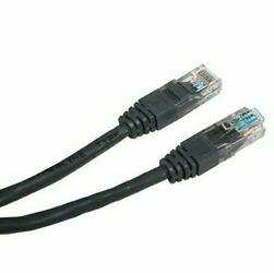 UTP patchcord UTP patchcord, Cat.5e, RJ45 M-5m, nieekranowany, czarny, economy