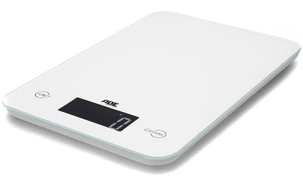 Mała waga kuchenna, elektroniczna slim do 5 kg ade biała ad-ke 915