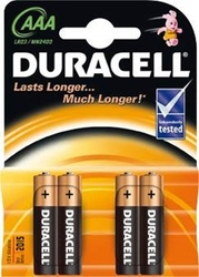 Duracell, lr03 aaa, baterie, 4 sztuki