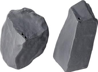 Solniczka i pieprzniczka Rock  Salt antracytowe