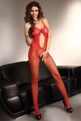 Bodystocking magali red