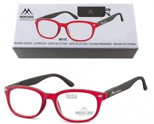 Okulary do czytania asferyczne montana box70c