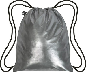 Plecak LOQI Metallic Matt Silver