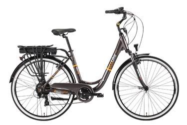 Rower miejski elektryczny Ecobike City grey L 28 350W 2017