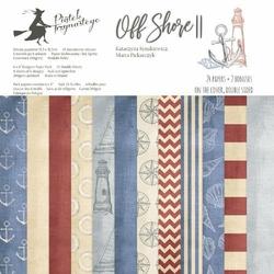 Papier Off Shore II 15,3x15,3 cm - zestaw