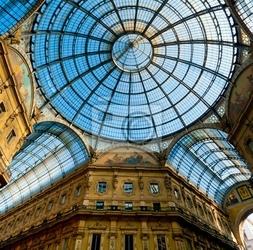 Fototapeta galleria vittorio emanuele