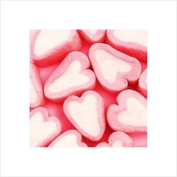Różowe serduszka - reprodukcja
