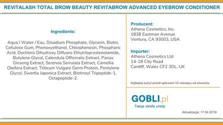 Revitalash brow mini kit: zestaw upiększający brwi