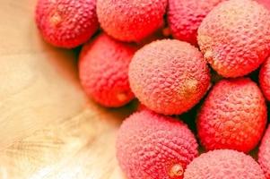 Fototapeta na ścianę owoce liczi fp 879
