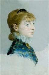Mademoiselle lucie delabigne 1859 1910, called valtesse de la bigne, edouard manet - plakat