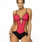 Marko crystal shock red m-492 1 monokini