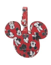 Zawieszka na walizkę z animacją myszki mini i miki - mickeyminnie red