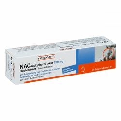 Nac ratiopharm akut 200 mg Hustenloeser Br.tabl.