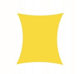 Żagiel przeciwsłoneczny daszek zacieniacz 4x3 brzoskwiniowy