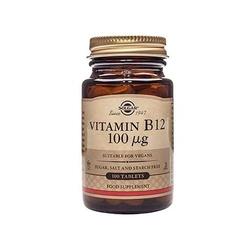 Solgar vitamin b12 100mcg 100tabs szybka wysyłka
