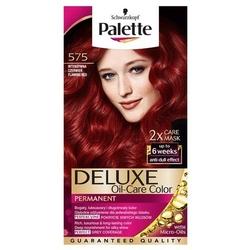 Palette, deluxe, farba do włosów,  575 intensywna czerwień