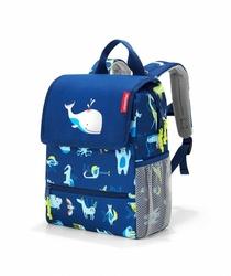 Plecak backpack kids abc friends blue