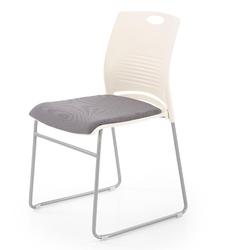 Krzesło konferencyjne z tapicerowanym siedziskiem cali