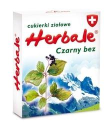 Cukierki ziołowe herbale czarny bez 50g